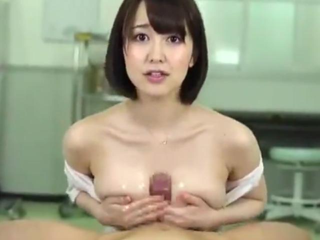 [篠田ゆう]「こんな感じでいいんですかぁ?(恥)」入院6日目に美人看護師さんが特別性処理
