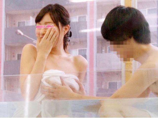 [マジックミラー号]女友達脱いだらスレンダーなのに巨乳で興奮!もちろん我慢できずに友情崩壊の一部始終!